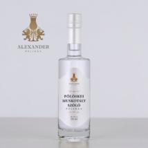 Pölöskei muskotály szőlő pálinka 350 ml (44%)