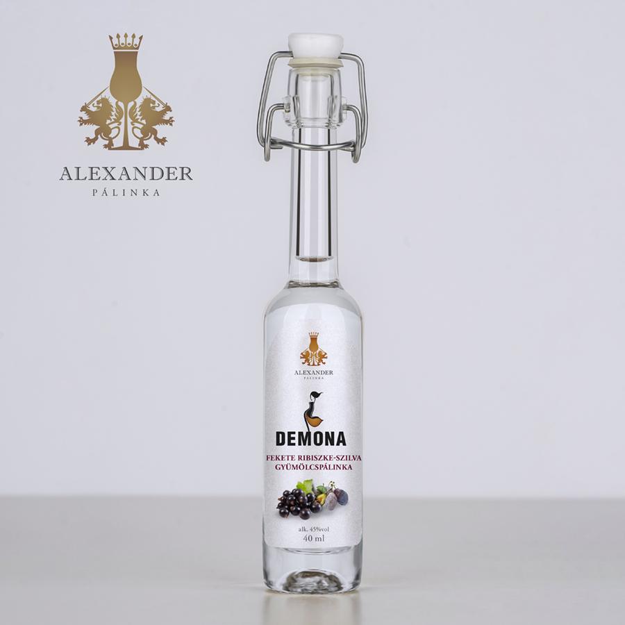 Demona pálinka 40 ml (45%)