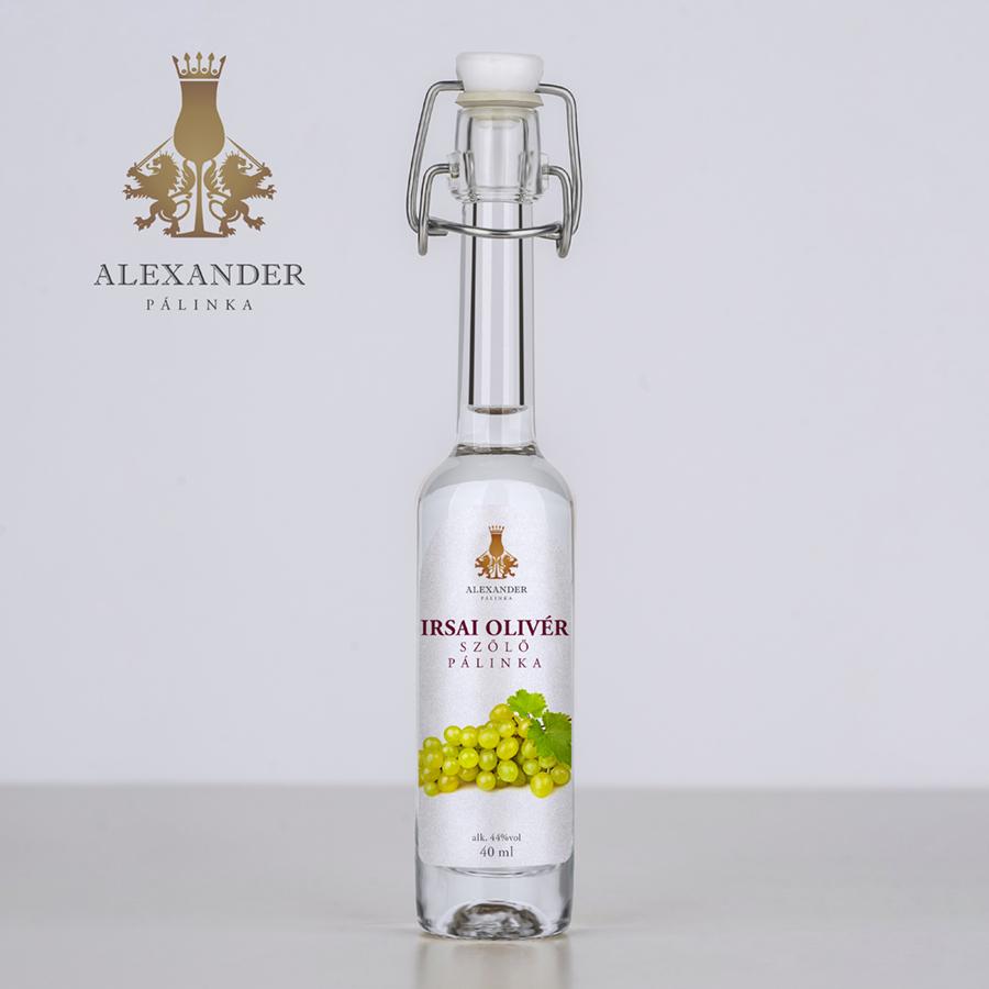 Irsai Olivér szőlőpálinka 40 ml (44%)