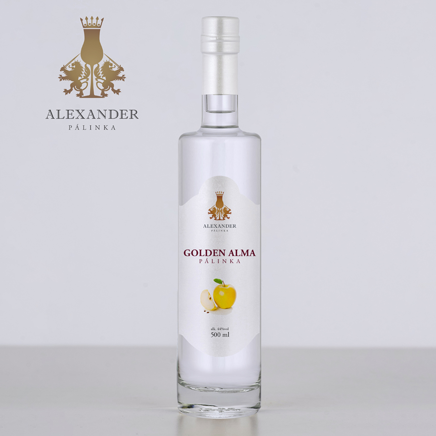 Golden alma pálinka 500 ml (44%)